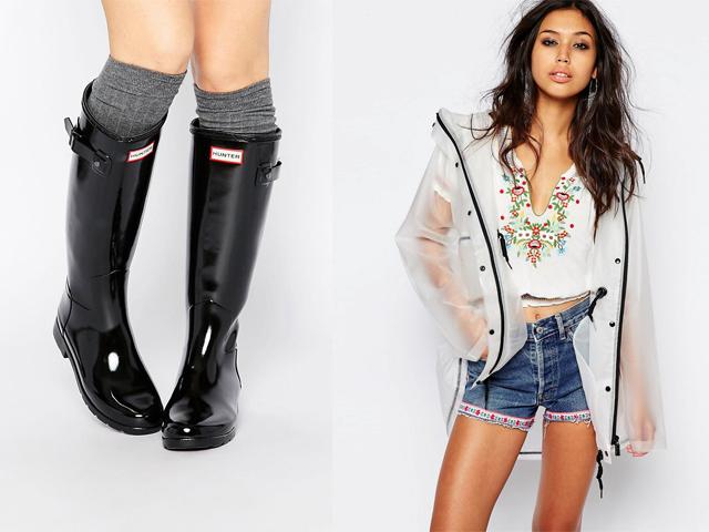 Che scarpe mettere in estate quando piove?