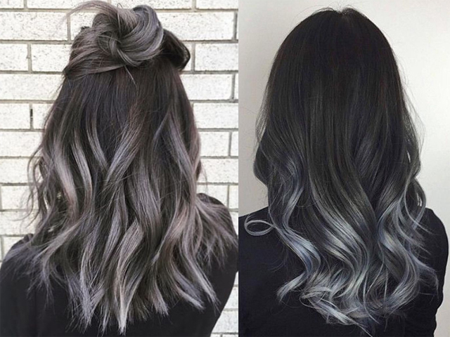 Grey ombré hair  la tendenza capelli dell autunno 2016  14a6250e77ca