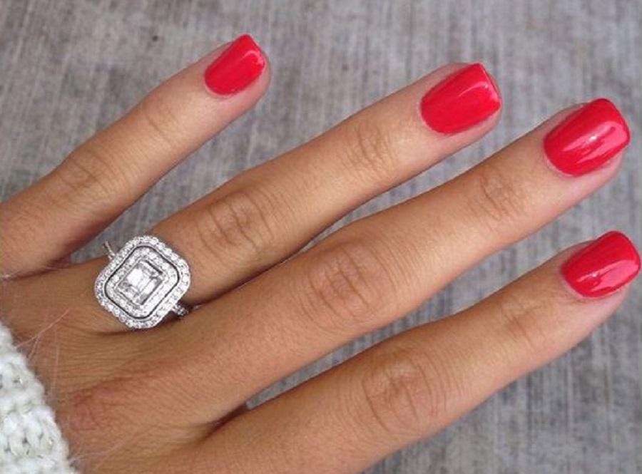 Top Unghie gel rosse: nail art eleganti e di tendenza | Style Girl JR91