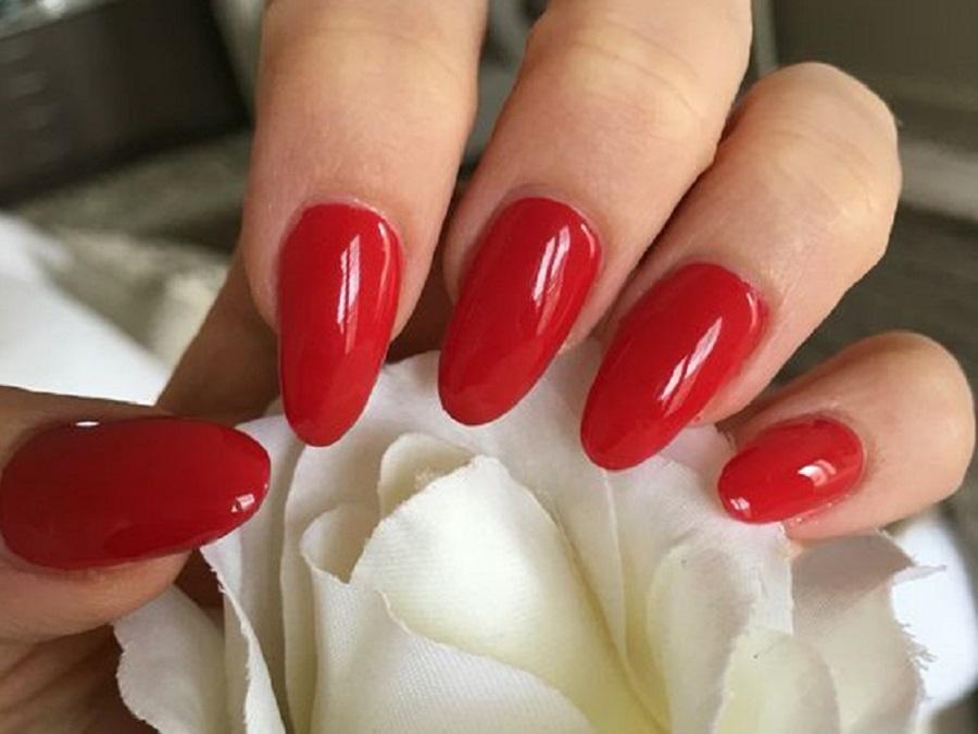 Unghie Gel Rosse Nail Art Eleganti E Di Tendenza Style Girl