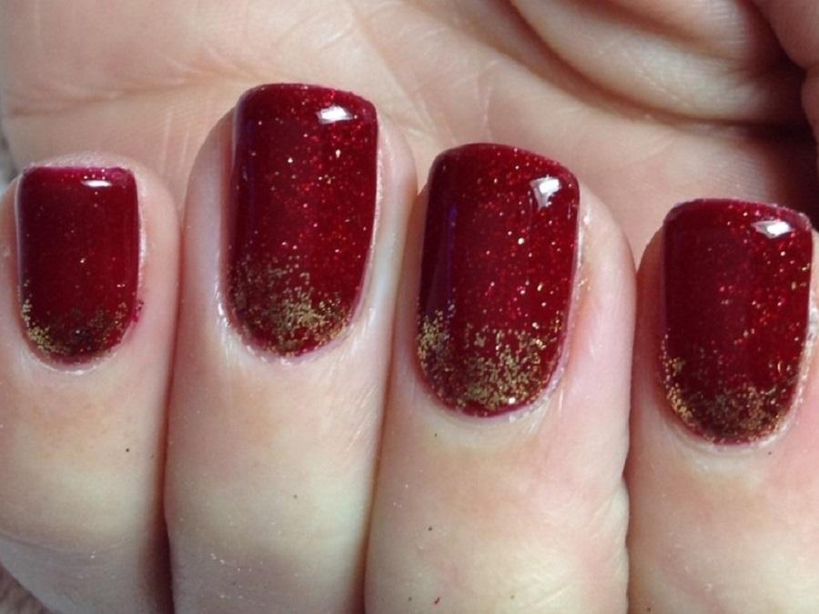 Unghie natalizie immagini di nail art semplici per natale for Unghie gel decorazioni semplici