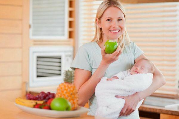 dieta allattamento