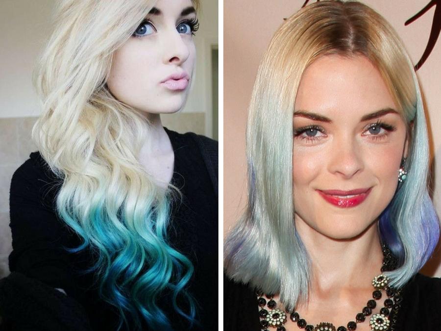 shatush blu su capelli biondi 59df9331d830