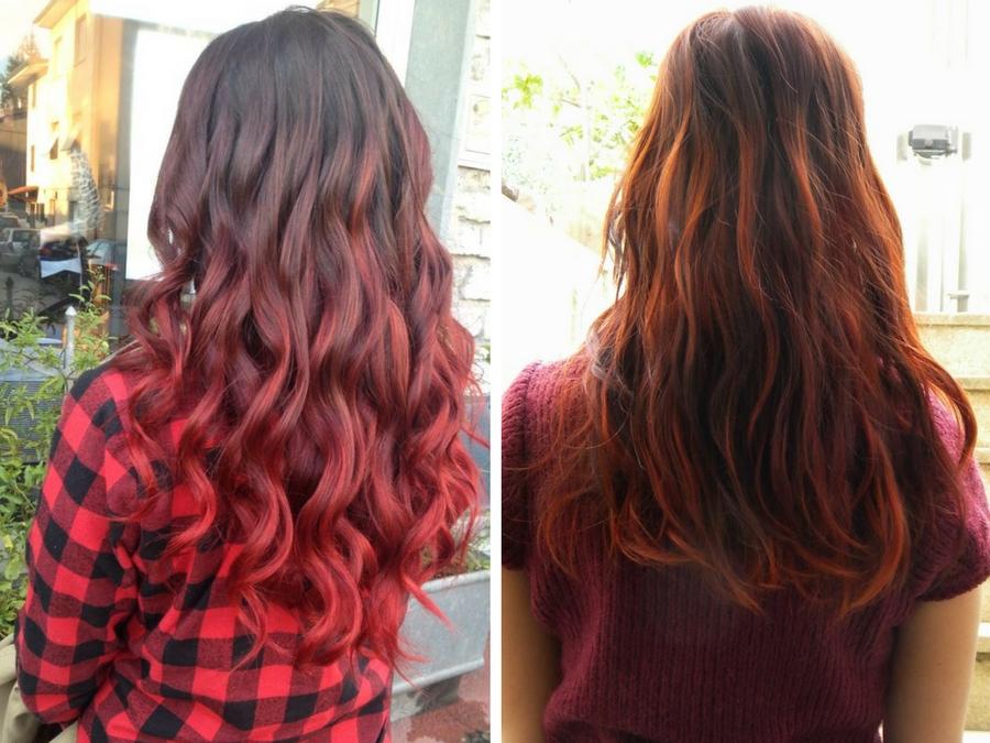 Célèbre Shatush rosso: l'ultima tendenza capelli | Style Girl JK69