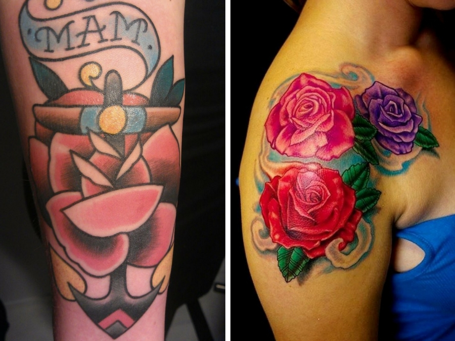 Tatuaggi old style pictures to pin on pinterest tattooskid for Tatuaggi stile pin up