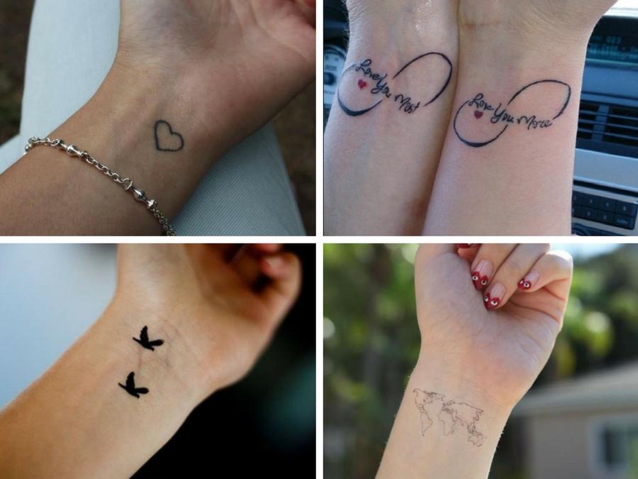 Particolare Tatuaggi Piccoli Femminili Polso