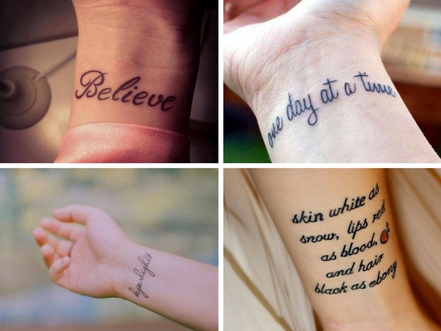 Tatuaggi piccoli polso: idee e ispirazioni | Style Girl