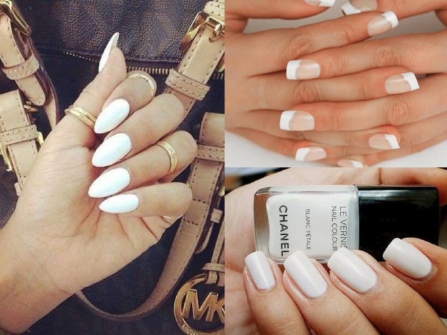 Unghie bianche, lo smalto bianco diventa tendenza | Style Girl