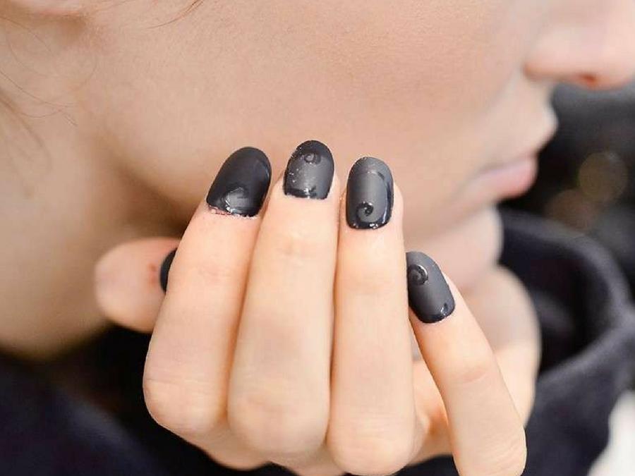 Unghie Nere Le Piu Belle Nail Art Da Copiare Style Girl