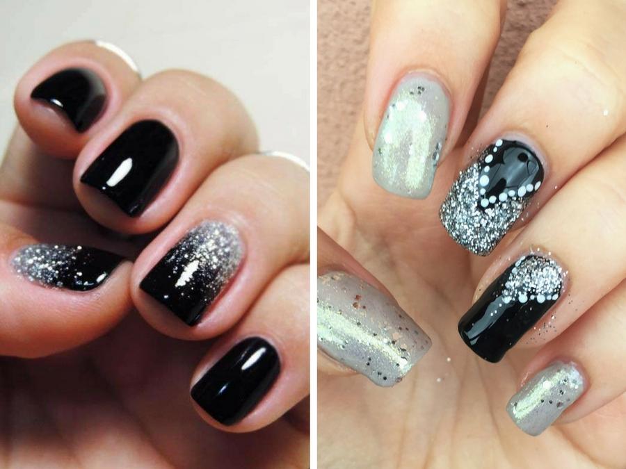 Unghie nere e argento - Cura della pelle