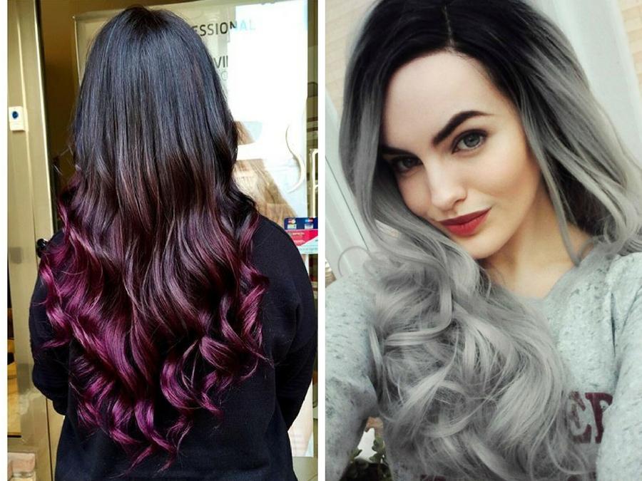Shatush capelli castani come scegliere il colore giusto - Bagno di colore grigio capelli ...