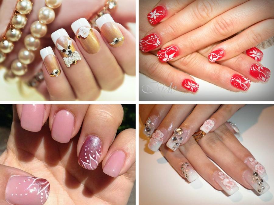 immagini di unghie con gel