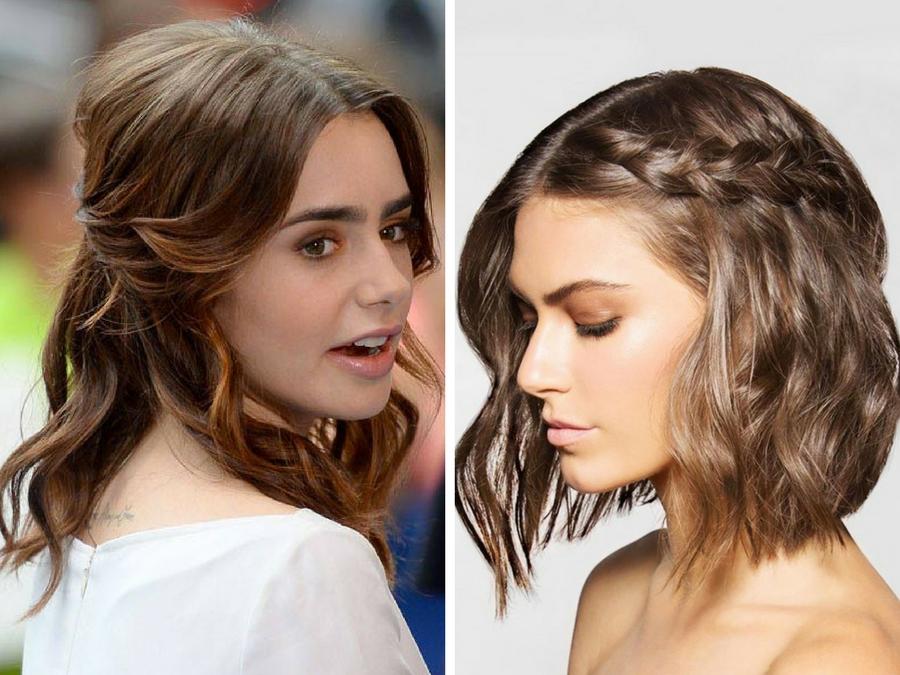 Acconciature capelli medi ondulati