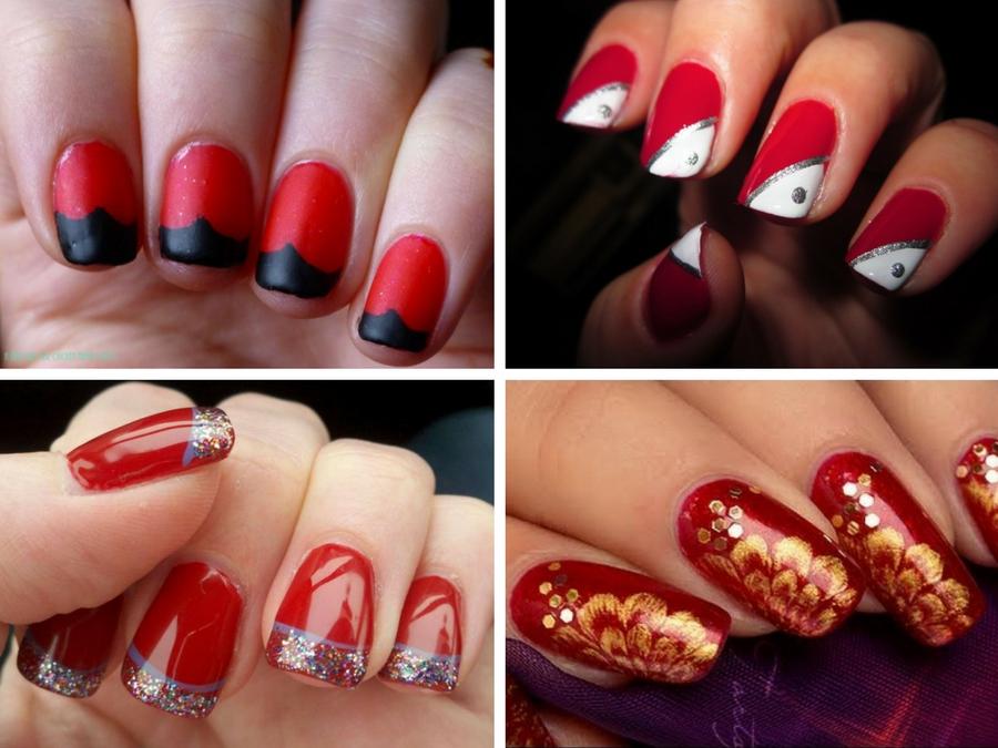 Smalto semipermanente rosso Smalto semipermanente rosso. Ricostruzione  unghie gel semipermanente 💅💅 leopardate e smalto nero