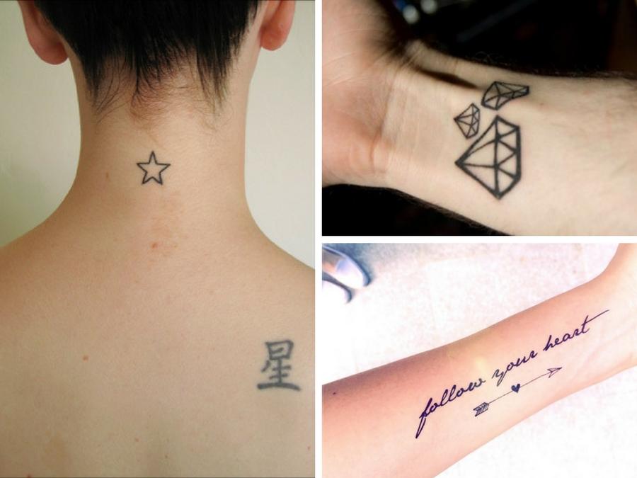 tatuaggi piccoli e belli
