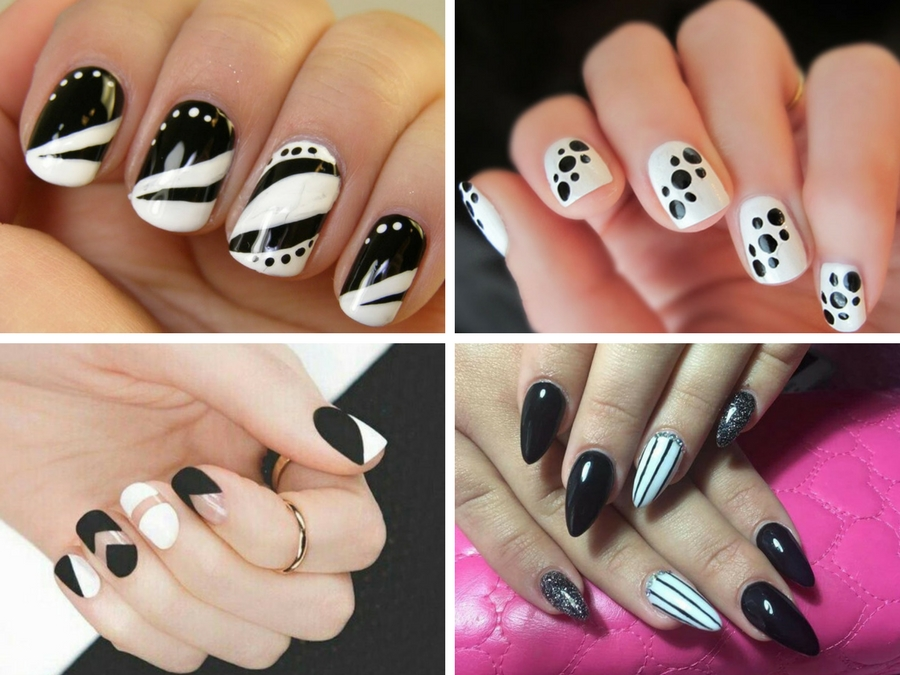 Unghie Gel Bianche Le Nail Art Piu Belle Style Girl