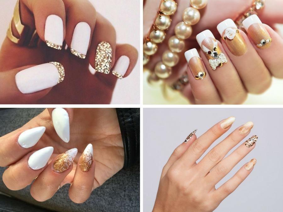 Unghie Gel Bianche Le Nail Art Piu Belle Style Girl