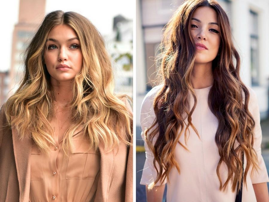Tagli estivi capelli lunghi