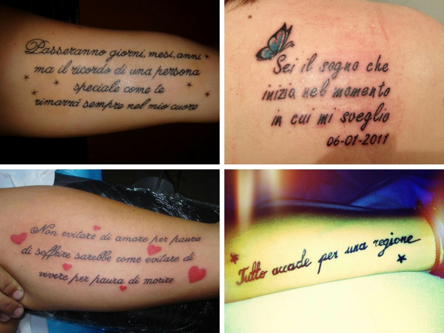 tatuaggi scritte frasi tante idee a cui ispirarsi style