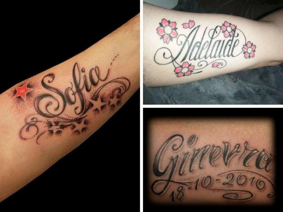 Tatuaggi scritte nomi foto e idee da copiare style girl for Tatuaggi nomi e fiori