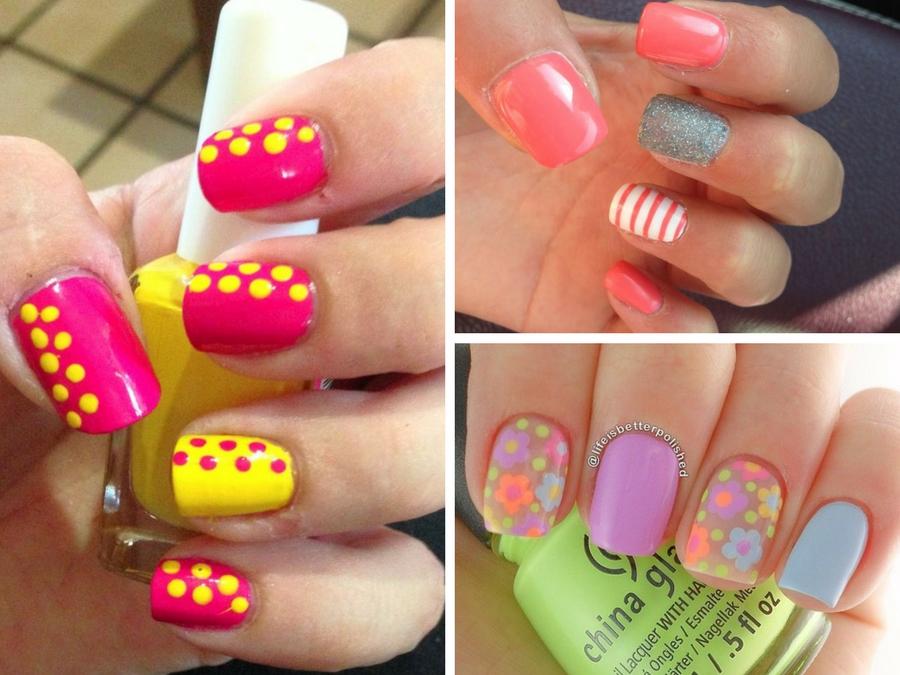 spesso Unghie gel estive: le più belle idee da copiare | Style Girl XF39