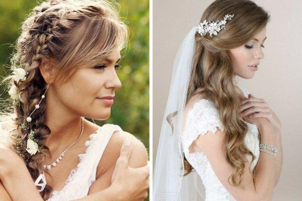 Acconciature matrimonio capelli lunghi