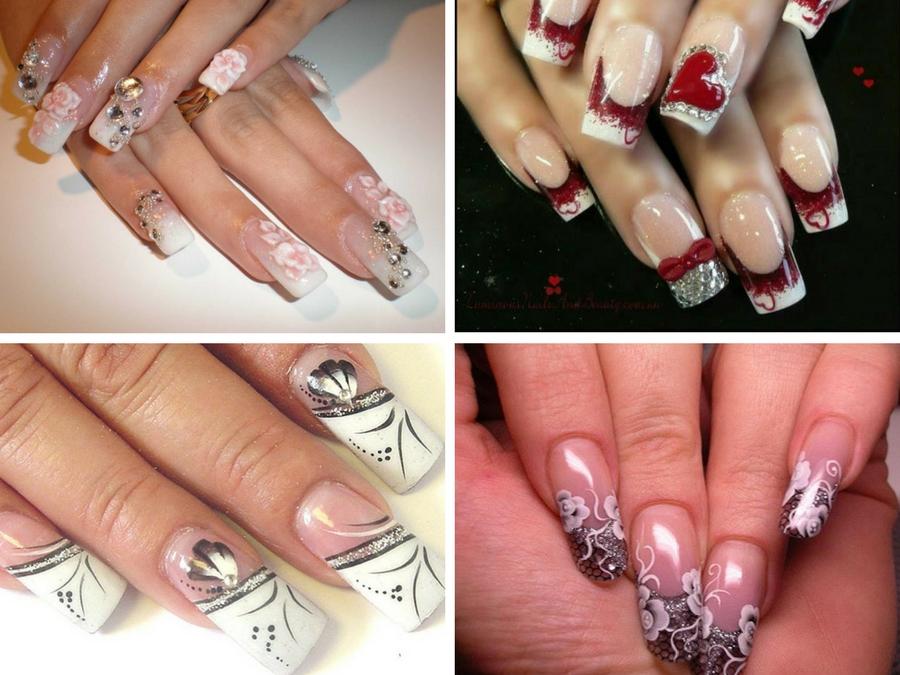 foto unghie gel decorate