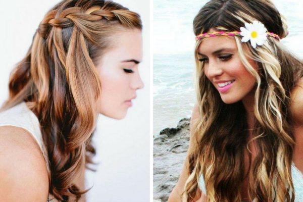 Pettinature capelli lunghi mossi