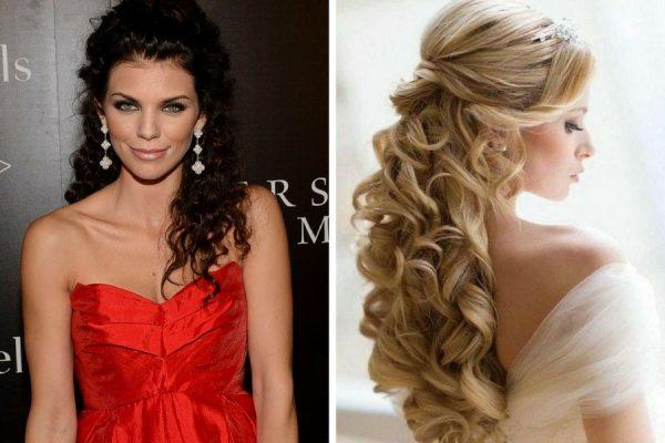 Pettinature capelli ricci lunghi