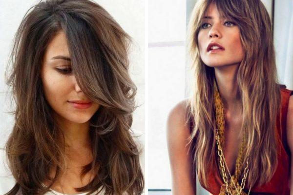 Tagli capelli scalati lunghi