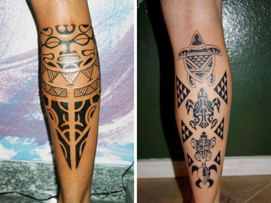Tatuaggi maori polpaccio: i disegni più belli per lui e ...