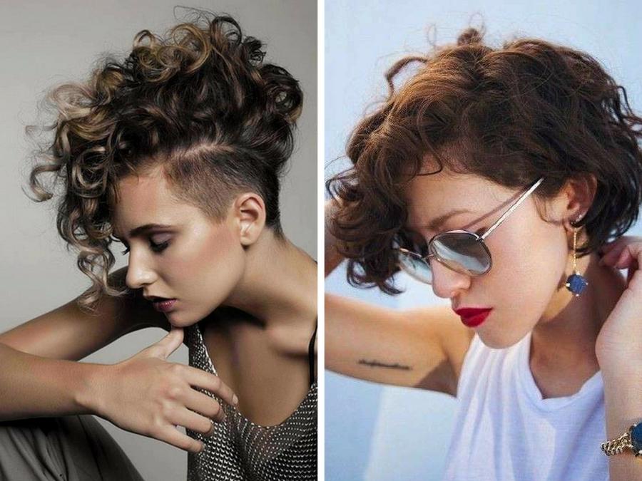 Tagli capelli ricci donne 2017